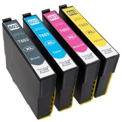 Analoog tintide komplekt Epson 603XL (BK/C/M/Y)