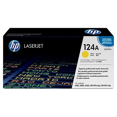 HP Cartridge No.124A Yellow (Q6002A)