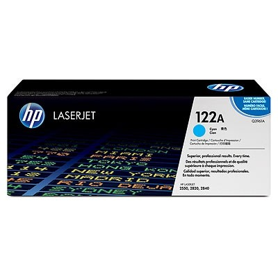 HP Cartridge No.122A Cyan (Q3961A)