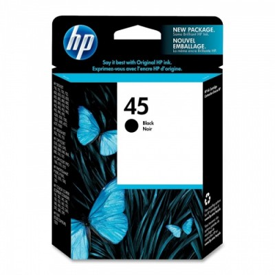 HP Ink No.45 Black (51645AE)