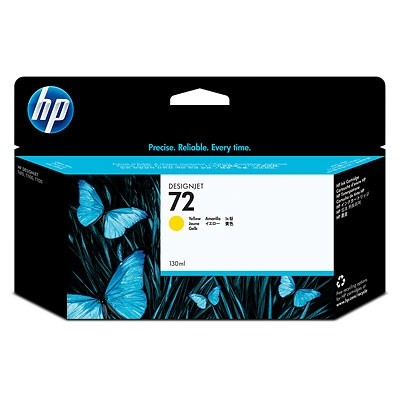 HP Ink No.72 Yellow (C9373A)
