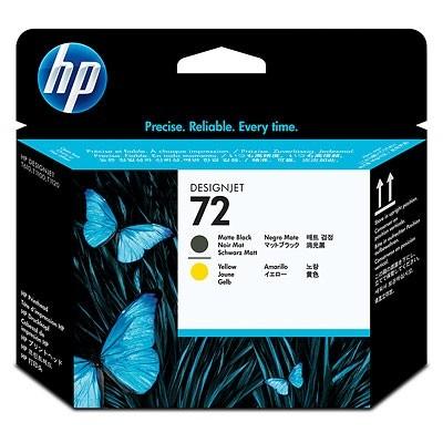 HP Ink No.72 Matt black/Yellow (C9384A)