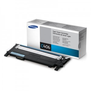 Samsung Cartridge Cyan CLT-C406S/ELS (ST984A)