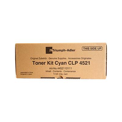Triumph Adler Toner CLP 4521/ Utax Toner CLP 3521 Cyan (44521101