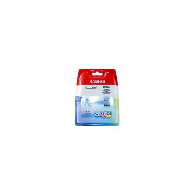 Canon Ink CLI-521 Multipack C/M/Y Blister (2934B010)