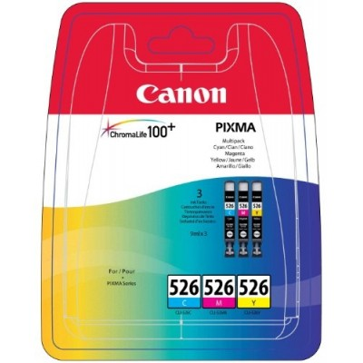 Canon Ink CLI-526 Multipack C/M/Y (4541B009)
