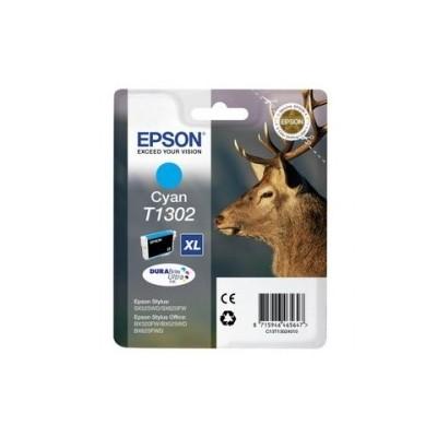 Epson Ink T1302 Cyan (C13T13024012)
