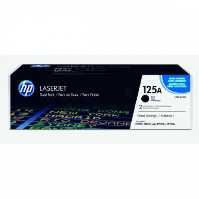 HP Cartridge No.125A Dual Pack Black Cartridge (CB540AD)