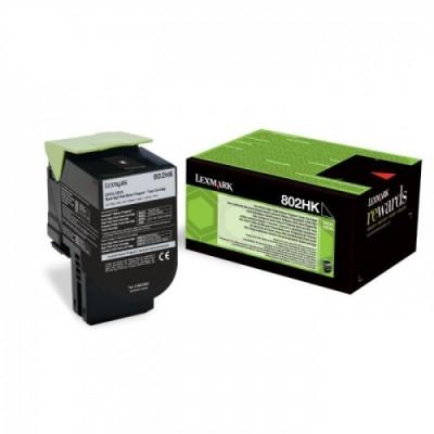 Lexmark Cartridge 802HK Black (80C2HK0) Return