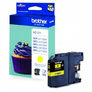 Brother Ink LC 123 Yellow (LC123Y)