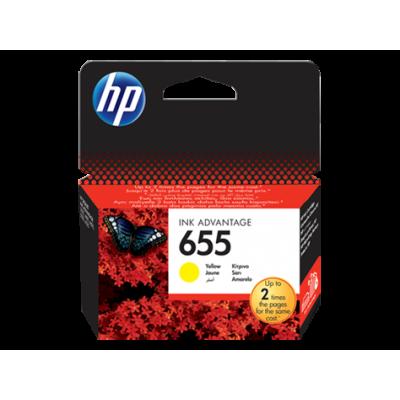 HP Ink No.655 Yellow (CZ112AE)