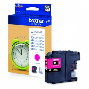 Brother Ink LC 125XL Magenta (LC125XLM)