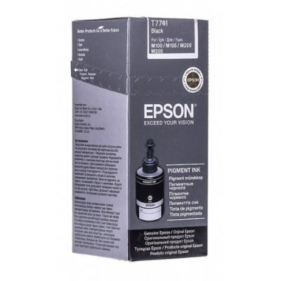 Epson Ink Pigment Black Bottle (C13T77414A)