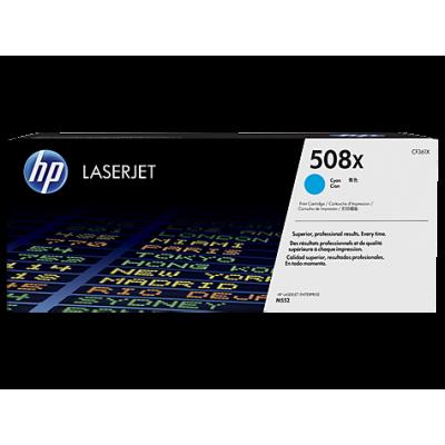 HP Cartridge No.508X Cyan HC (CF361X)