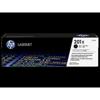 HP Cartridge No.201X Black HC (CF400X)