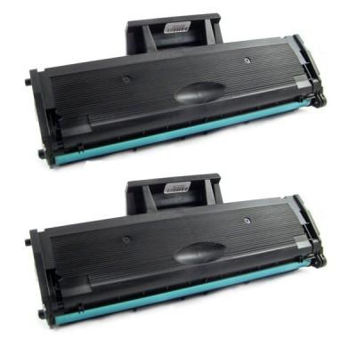 Картридж Samsung MLT-D101S / 2160 / 2165 / 3400 Комплект 2 шт, совместимый