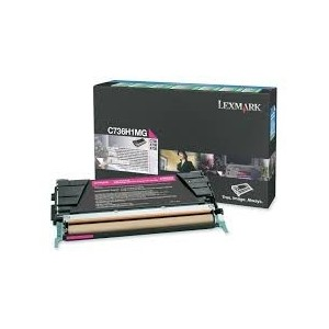 Lexmark Cartridge Magenta (C736H1MG) Return