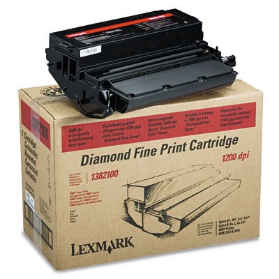 Lexmark Cartridge Black 1382100